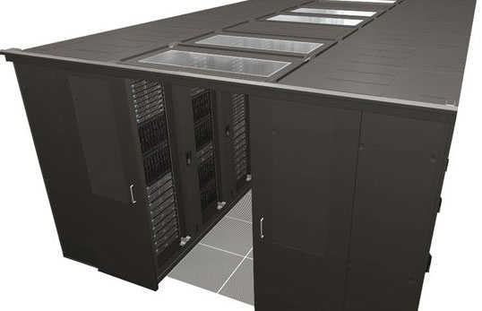 Sliding Door Closer prevents energy loss in Data Center