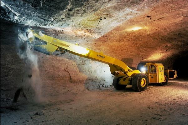 Door Opener DIREKT on Mining Vehicle